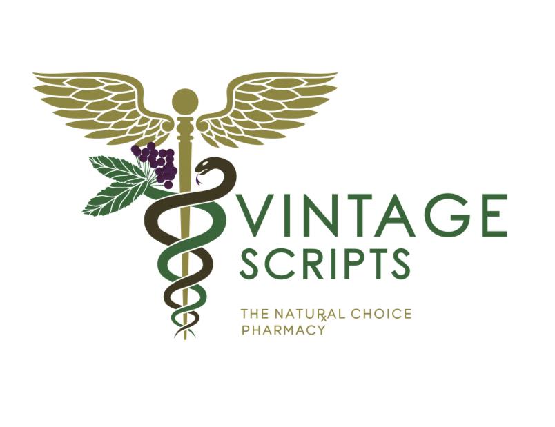 Vintage scripts natural